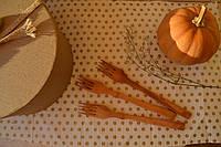 Деревянные вилки