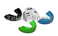 Капа одночелюстная ZELART (термопластик, цвета в ассортименте, пластиковый футляр)