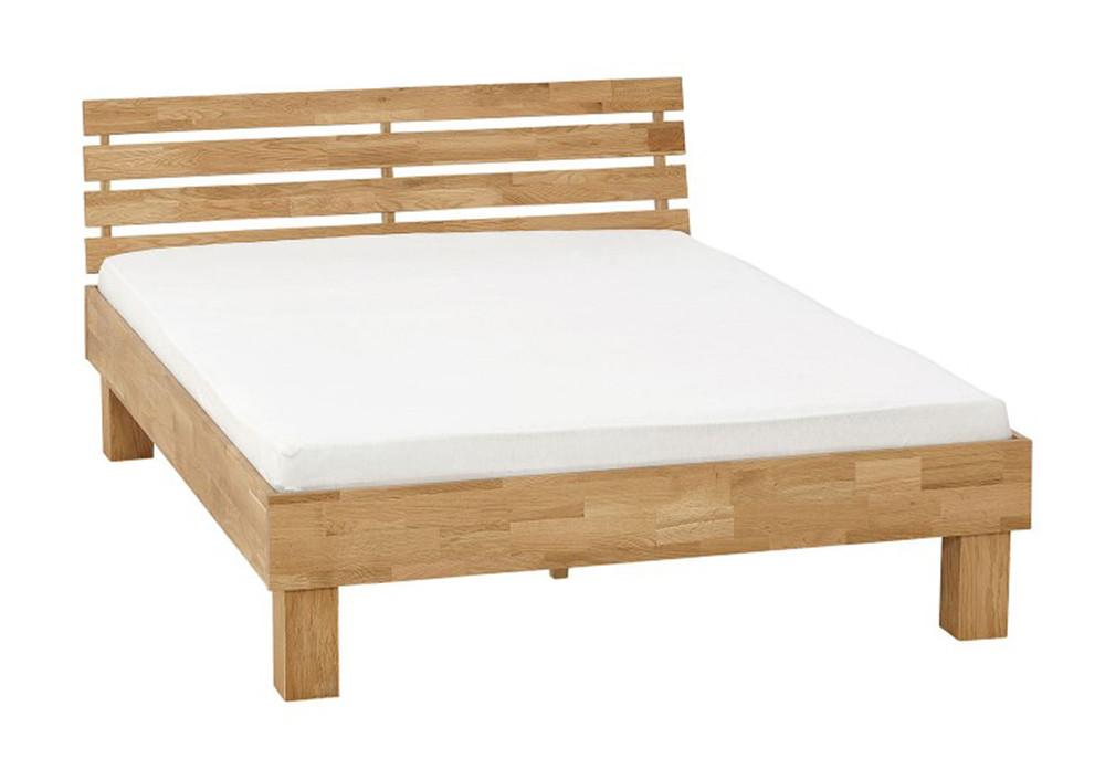 Кровать из массива дерева 078