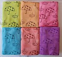 Полотенце микрофибра зонтик 25х50 см