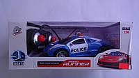 """Машина на радиоуправлении """"Police Car"""",270х125х110мм,3D свет,ездит в любом направлении,1:24.Радиоуправляемая П"""