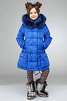 Зимнее детское пальто с натуральным  мехом Малика  нью вери (Nui Very) в Украине по низким ценам