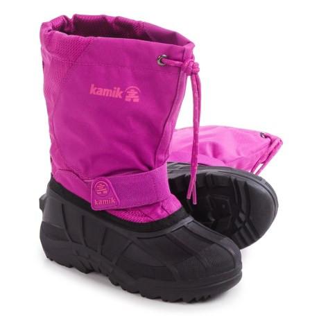 fbaff315f Детские Зимние ботинки Kamik Snowdrift4 Pac размер 28 - Интернет-магазин
