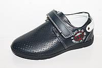 Детские мокасины оптом.Туфли с перфорацией для мальчиков от фирмы Tom.m 0961B (8пар 27-32)