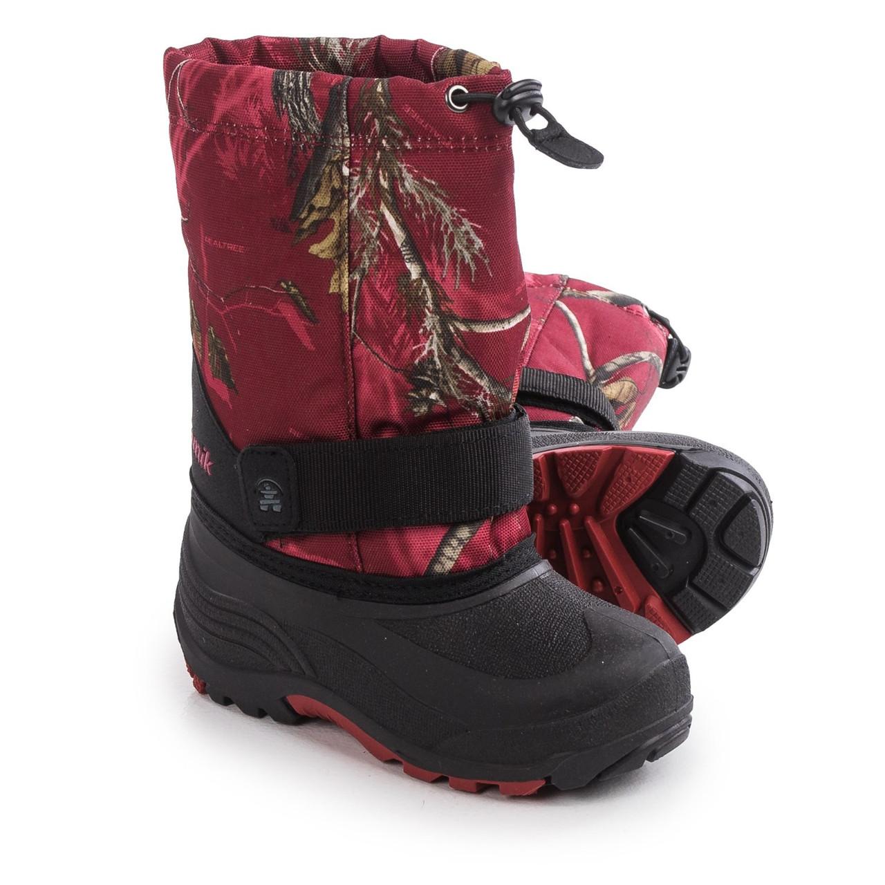 7a60a2754 Детские Зимние ботинки Kamik Rocket размер 28 - Интернет-магазин