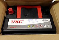 Аккумулятор автомобильный 12v 50A UKC с уровнем электролита