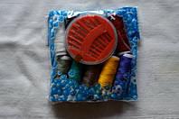 Дорожный набор ниток 10 цветов + набор иголок