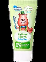 """Зубная паста """"Бобер Тема"""" для детей 3-6 лет 50мл. Pink Elephant"""