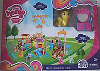 """Игровая площадка Замок """"My little horse"""", пони, аксессуары"""