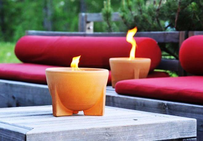 Садовая свеча-факел CeraNatur®
