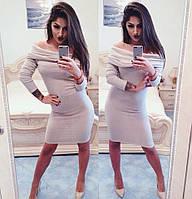 Платье с хомутом 1032 Виола