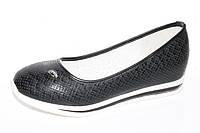 Туфли для девочек. Подростковые туфли для девочек с внутренней танкеткой от фирмы Tom.m 1023C (8пар 33-38)
