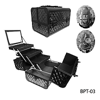 Профессиональный сумка для мастеров маникюра и визажа BPT-03_LeD