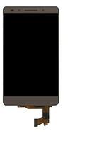 Дисплей (экран) для Huawei Honor 7 + с сенсором (тачскрином) Gold