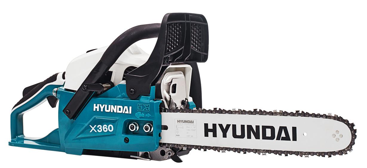 Бензопила цепная Hyundai X 360 2
