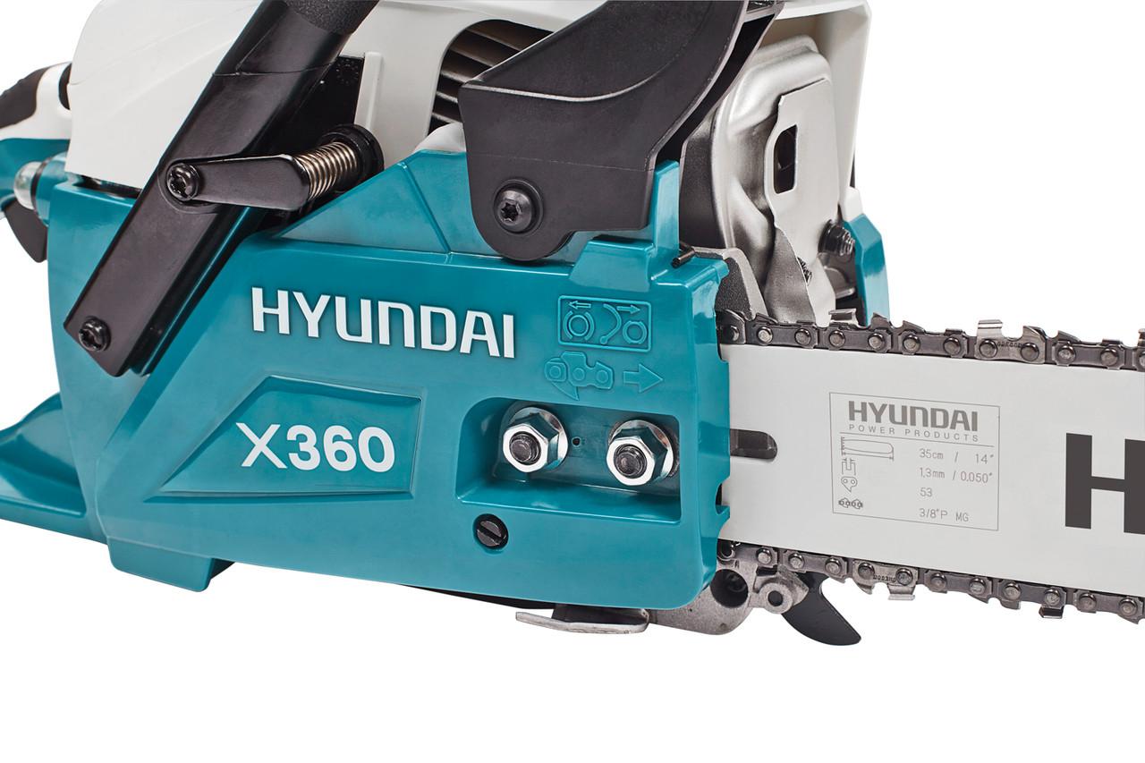 Бензопила цепная Hyundai X 360 4