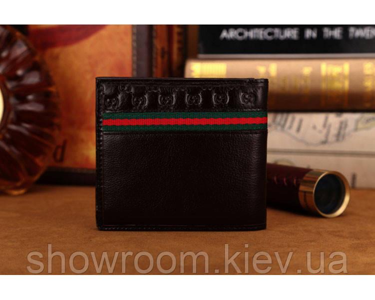 Мужское портмоне в стиле Gucci (306790) brown