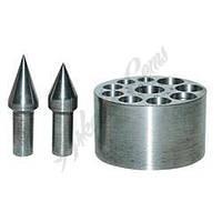 Плита касторихтовочная 13 отверстий, углы наклона 17, 28