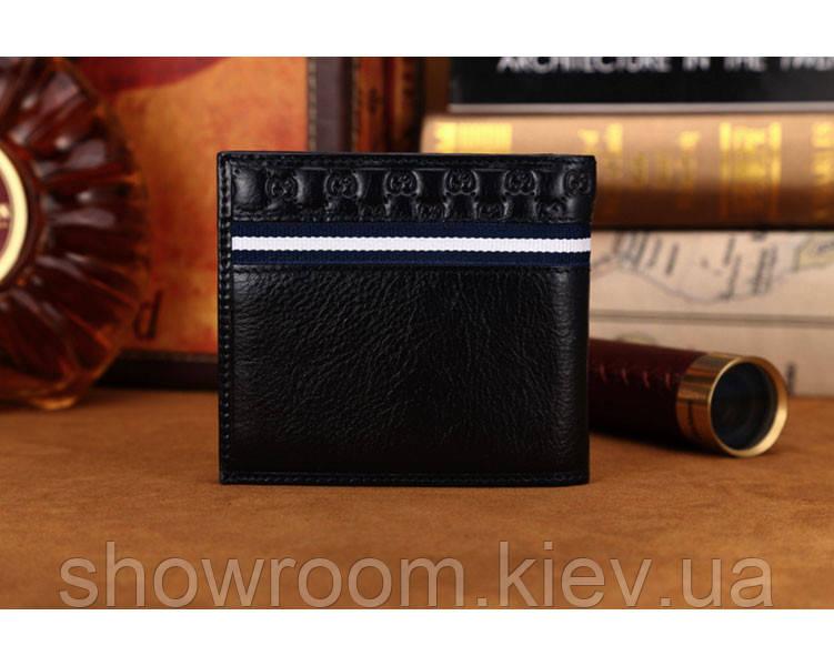 Мужское портмоне в стиле Gucci (306790) blue