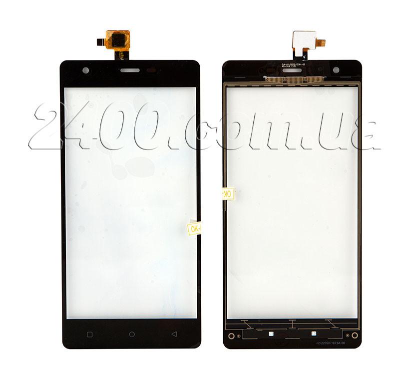 Touchscreen для телефонів Nomi i506 Shine - тачскрін (сенсор) Nomi i506 Shine (Номі i 506) чорний (black)