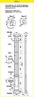 Пилястра 2840 / 330 комплект колонны