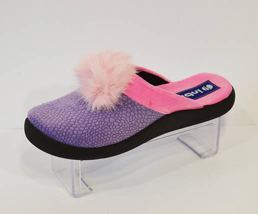 Женские фиолетовые тапочки Inblu PN-8Q, фото 2