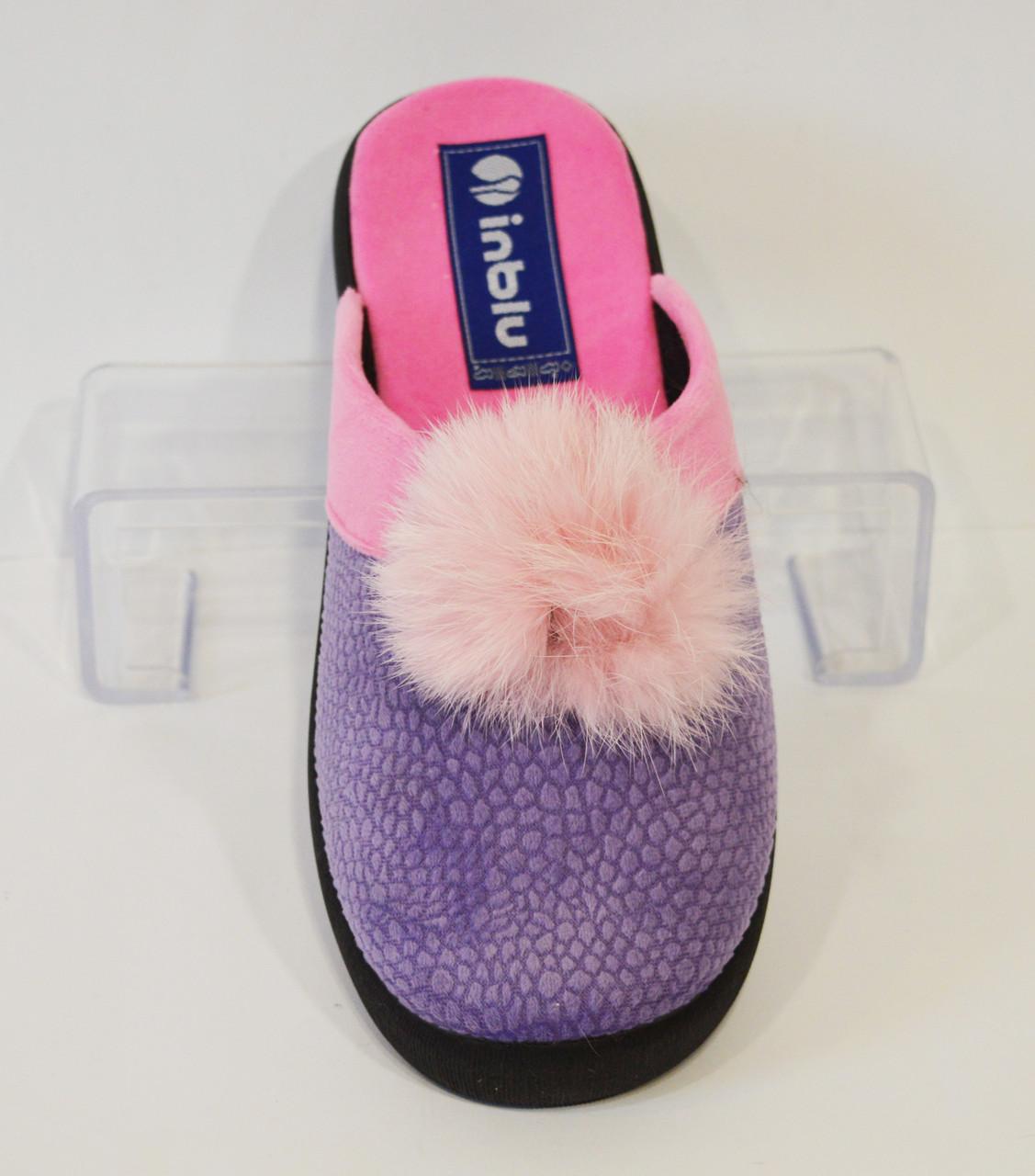 Женские фиолетовые тапочки Inblu PN-8Q