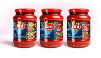 """Соусы и томатные пасты ТМ """"Ani"""""""