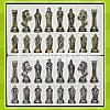 Шахматы «Римляни» Marinakis, 28x28 см., фото 2