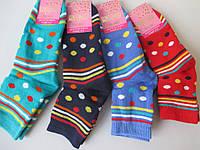 Махровые носочки в горошек, фото 1