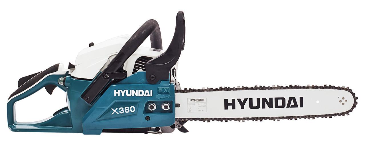Бензопила цепная Hyundai X 380 2