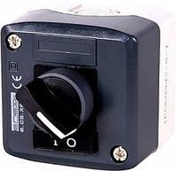 Кнопочный пост e.cs.stand.xal.d.134, секторный переключатель 0-1