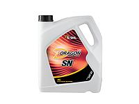Низковязкое моторное масло S-OIL DRAGON SN 0W30