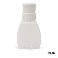 Большая пластиковая бутылка с помпой. PA-02