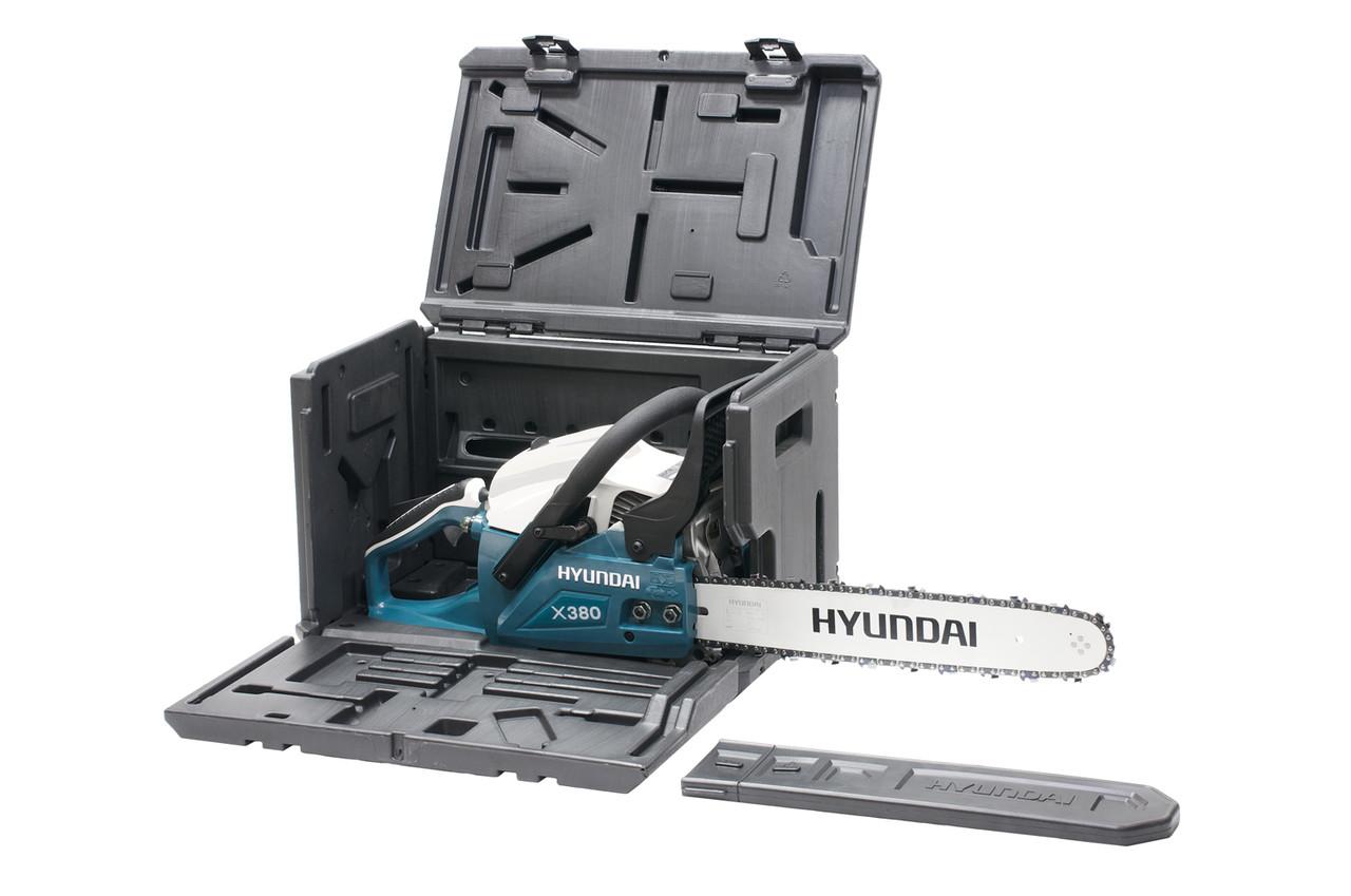 Бензопила цепная Hyundai X 380 7
