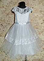 Платье для девочки Пышное , Бальное , праздничное , нарядное для девочки 5-8 лет