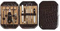 Набор маникюрный 11 предметов Темный шоколад