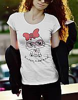 "Женская футболка ""Я няша а ты нет"""