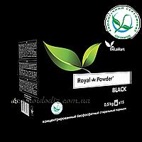 Безфосфатный концентрированный стиральный порошок для темных вещей Royal Powder Black