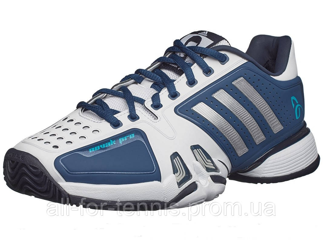 5f9f9bb6 Теннисные кроссовки Adidas Barricade Novak Pro , цена 5 148 грн., купить в  Виннице — Prom.ua (ID#383276459)