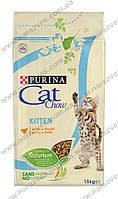 Сухой корм Purina Cat Chow Kitten 15кг