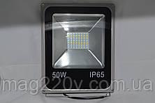 LED прожектор Slim SMD 50 W со встроенным датчиком движения