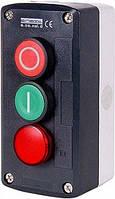Кнопочный пост e.cs.stand.xal.d.363.m, пуск-стоп-индикатор