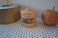Горшок для меда деревянный