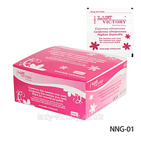 Салфетки одноразовые для снятия гель-лака   NNG-01