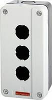 Корпус кнопочного поста e.cb.3, 3 места