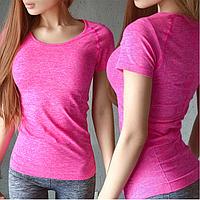 Розова спортивна футболка