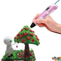 3D Ручка LCD RP100-B 3D Pen ГАРАНТИЯ 6 мес. (цвет розовый)