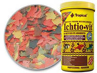 Tropical Ichtio-Vit 5л/1кг -корм для разведения рыбы (74407)