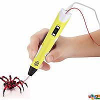 3D Ручка LCD RP100 ГАРАНТИЯ!!! 3д ручка (цвет желтый)